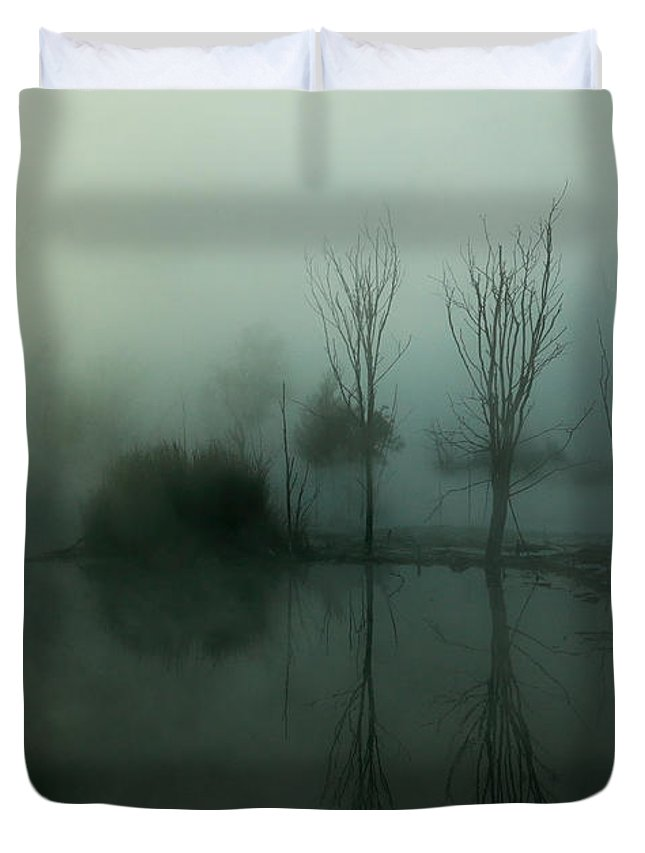 Ethereal Duvet Cover featuring the photograph Ethereal by Nicholas Blackwell
