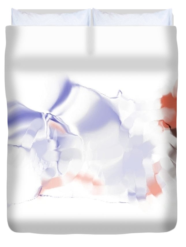Ethereal Duvet Cover featuring the digital art Ethereal by Ron Bissett