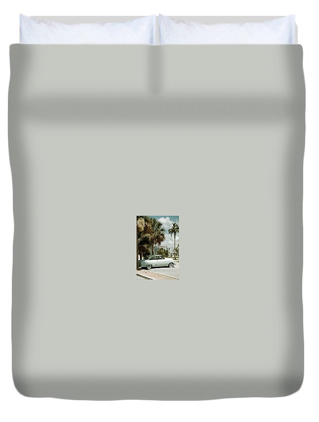 Everglade City Duvet Cover featuring the photograph Everglade City I by Flavia Westerwelle