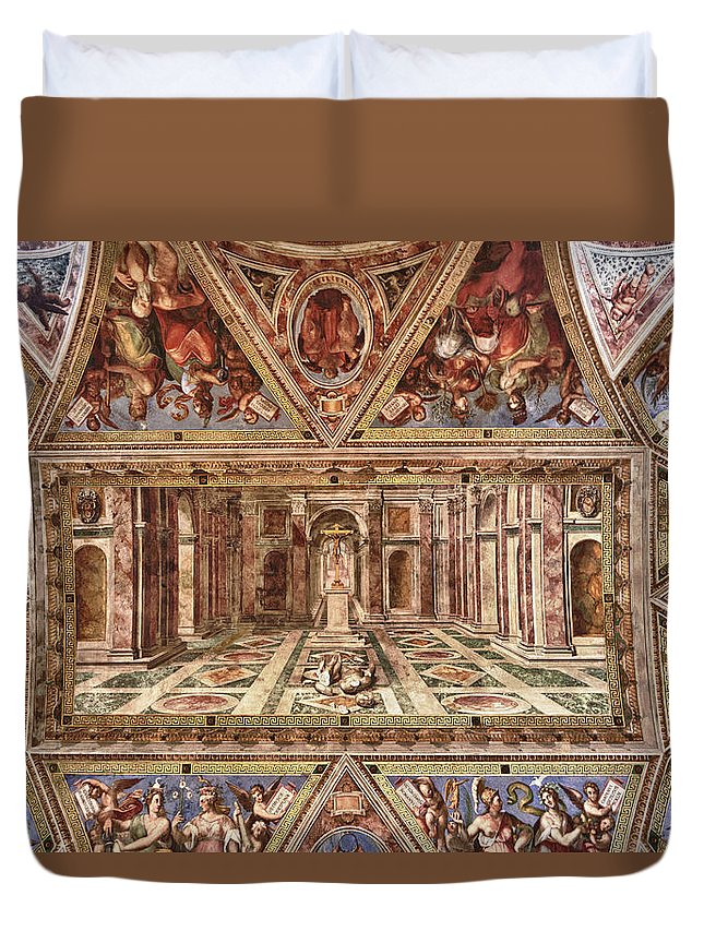 Italy Duvet Cover featuring the photograph Everlasting Awe by Janet Fikar