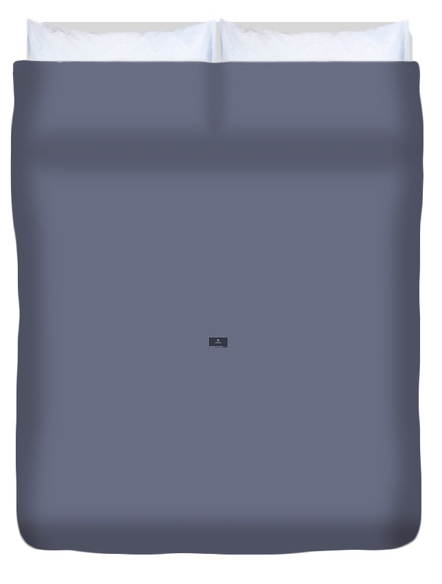Exodussupport Duvet Cover featuring the digital art Exodus Support Number by Jack Jons