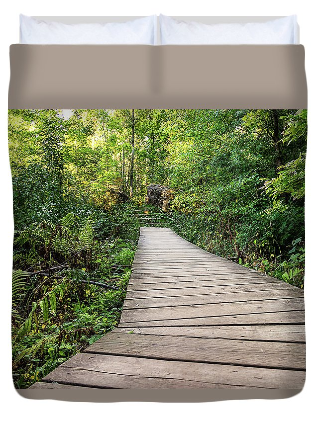 Nature Duvet Cover featuring the photograph Explore Nature by Jagmeet Singh Sanga