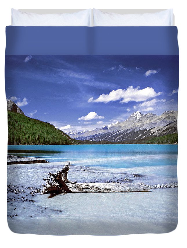 Duvet Cover featuring the photograph Exterior Decorations by The Walkers