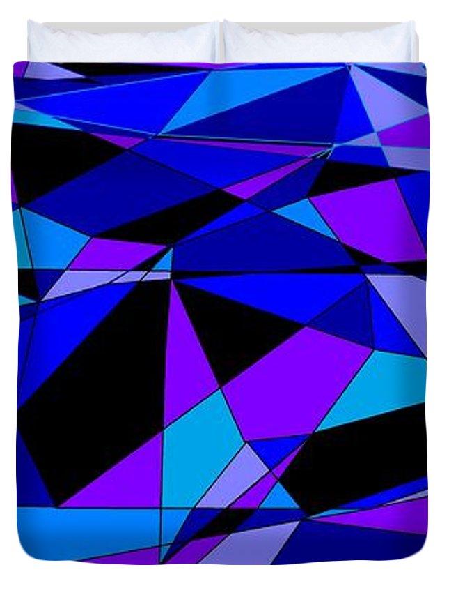 Facets 1 Duvet Cover For Sale By Linda Velasquez