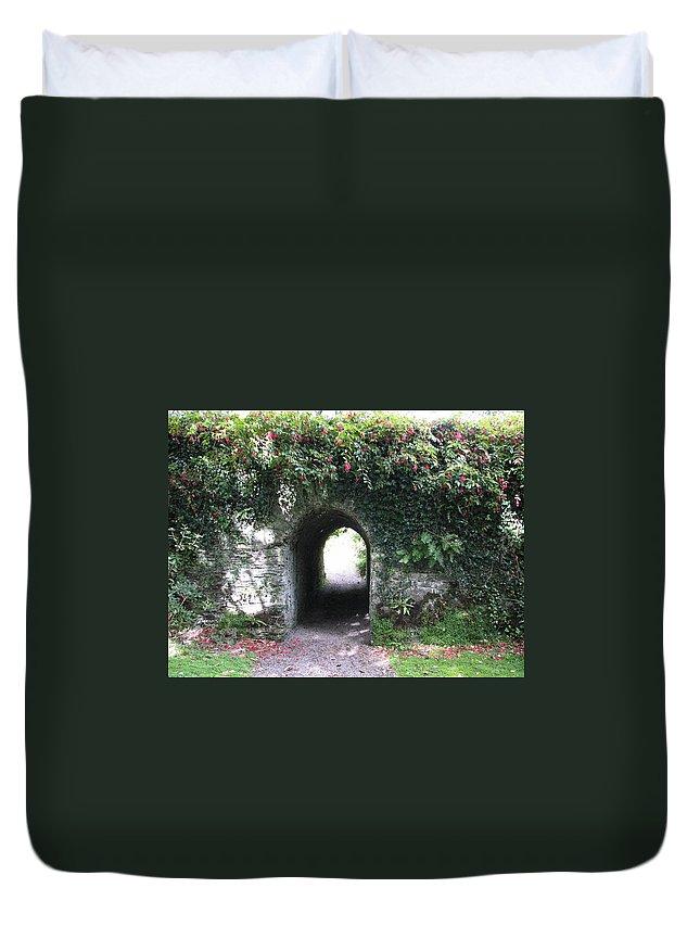 Derrynane Duvet Cover featuring the photograph Fairy Bridge by Kelly Mezzapelle
