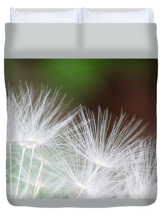 Fairy Wings Duvet Cover featuring the photograph Fairy Wings by Beverly Canterbury