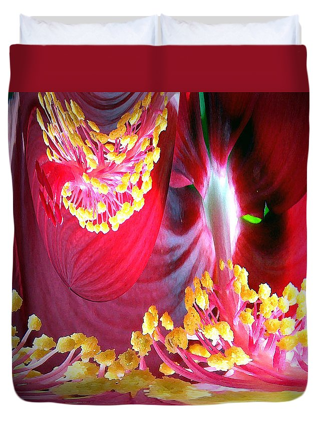 Fairytale Duvet Cover featuring the photograph Fairytale Forest by Merja Waters