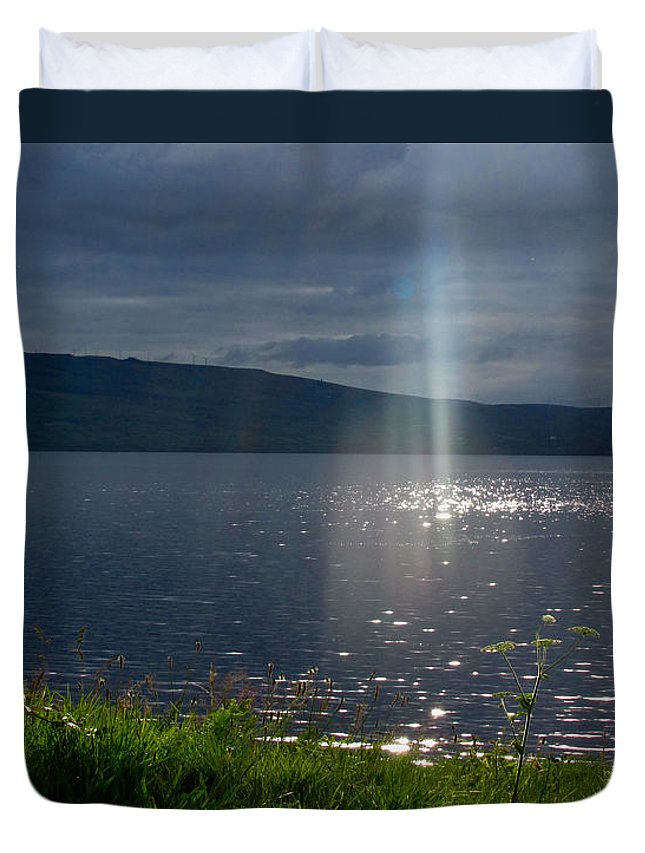 Co Cavan Duvet Cover featuring the photograph Family Of Light by Dawn Richerson