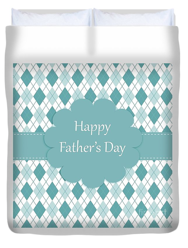 Witchcraft Duvet Cover featuring the digital art Father's Day by Frederick Holiday
