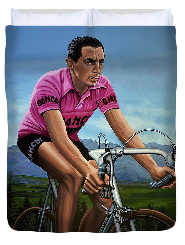 Cyclist Duvet Covers