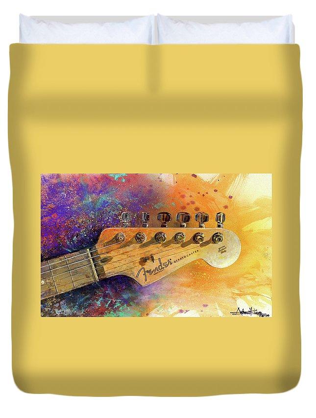 Guitar Duvet Covers