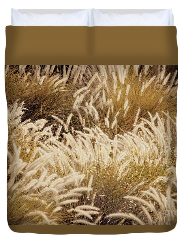 Beautiful Duvet Cover featuring the photograph Field Of Feathers by Rita Ariyoshi - Printscapes