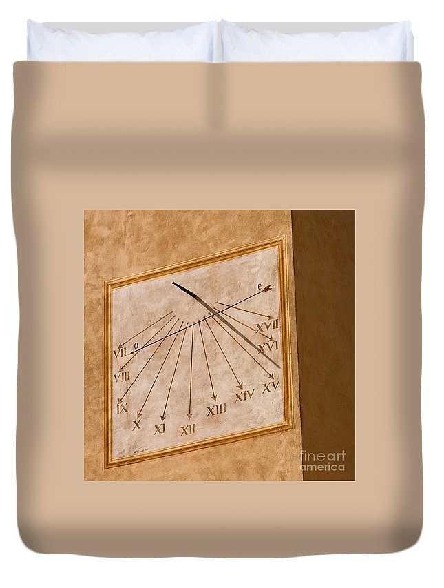 Italy Duvet Cover featuring the photograph Fifteen Twenty Five by Colette Panaioti