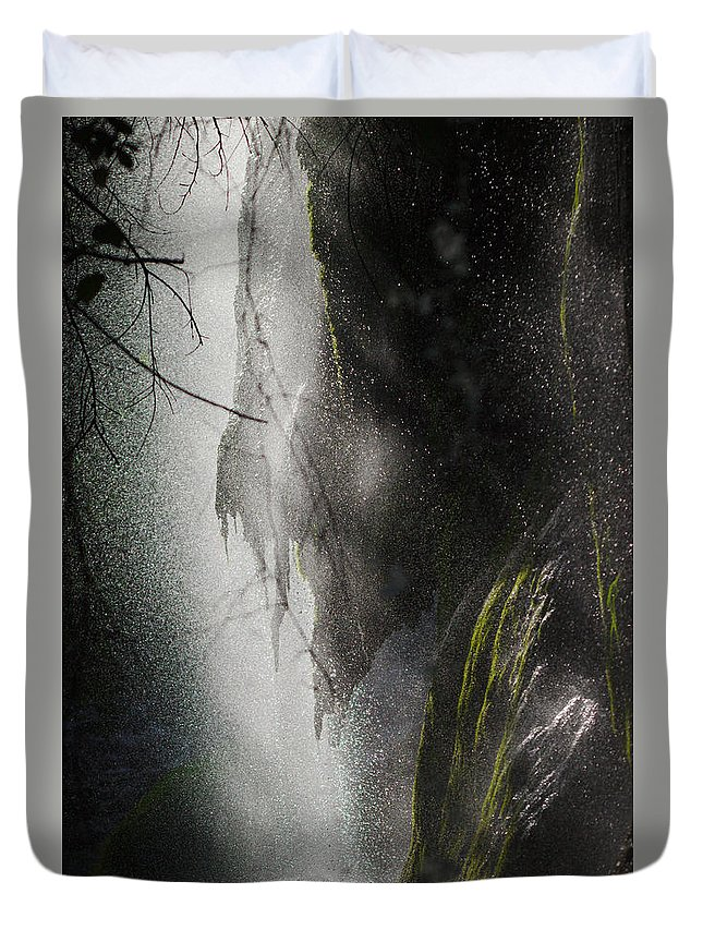 James Smullins Duvet Cover featuring the photograph Filtered Light by James Smullins