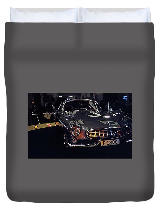 Cars Duvet Cover featuring the photograph First Look P 1800 by John Schneider
