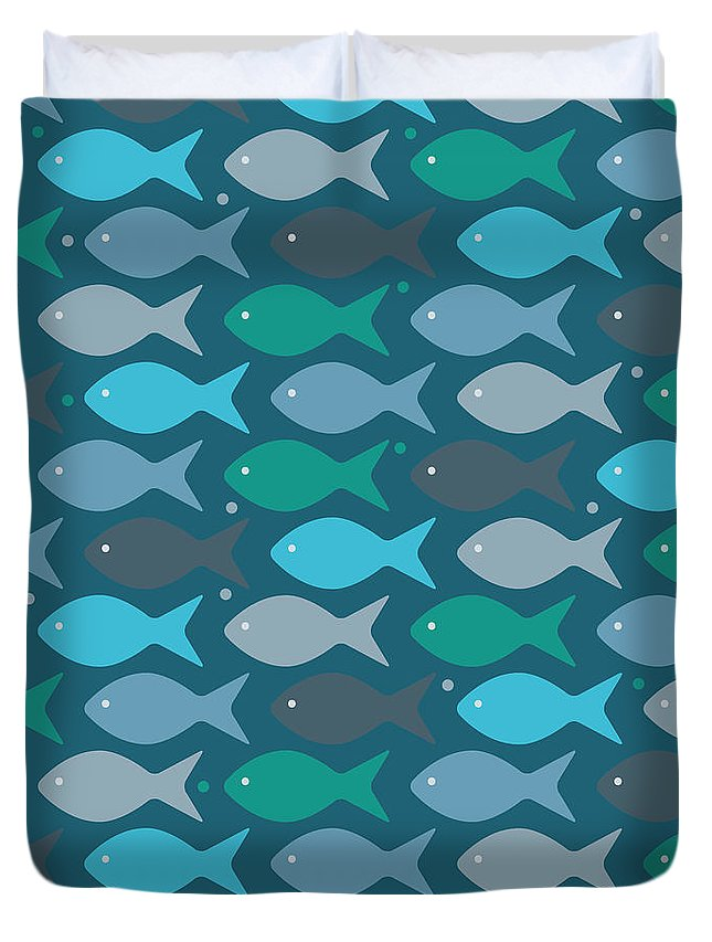 Coastal Digital Art Duvet Covers