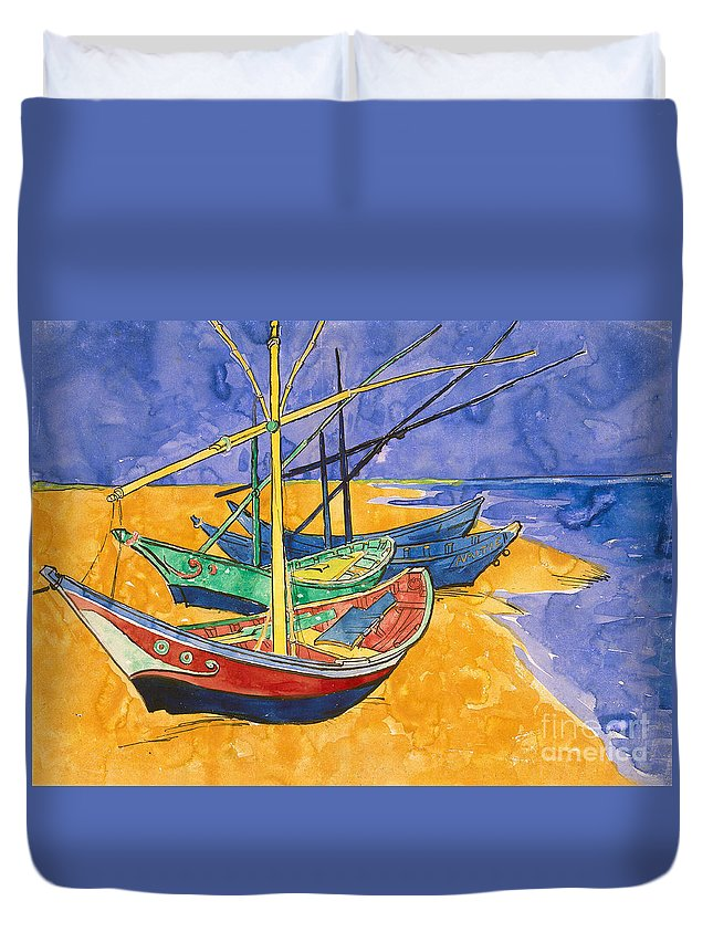 Fishing Boat Duvet Covers