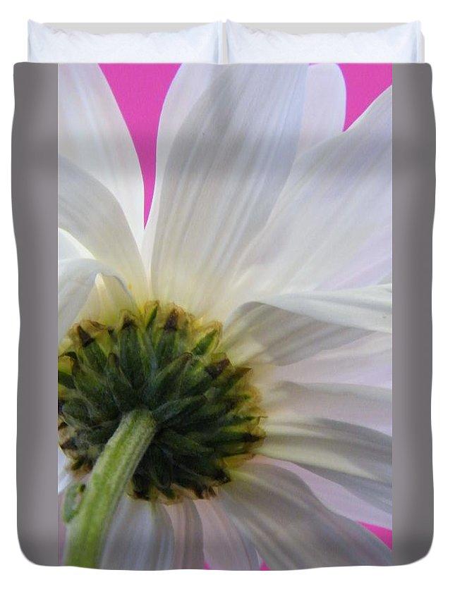 Floral Duvet Cover featuring the photograph Flora by Zora Jenea Studios