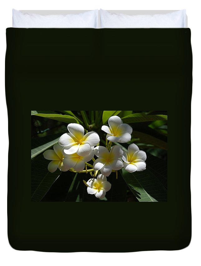 Nature Duvet Cover featuring the photograph Floral Beauties by Rob Hans