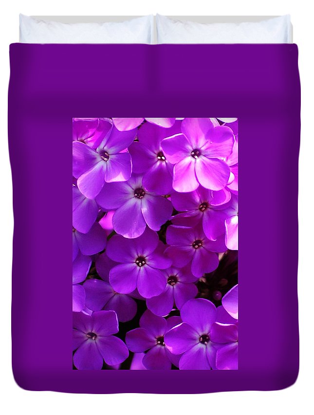 Floral Duvet Cover featuring the photograph Floral Glory by David Lane