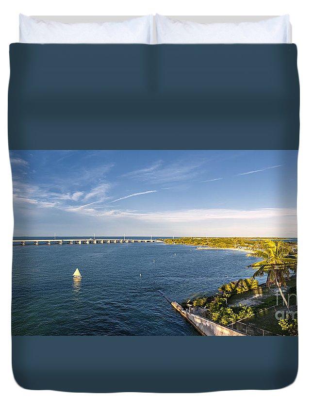 Florida Keys Duvet Cover featuring the photograph Florida Keys by Elena Elisseeva