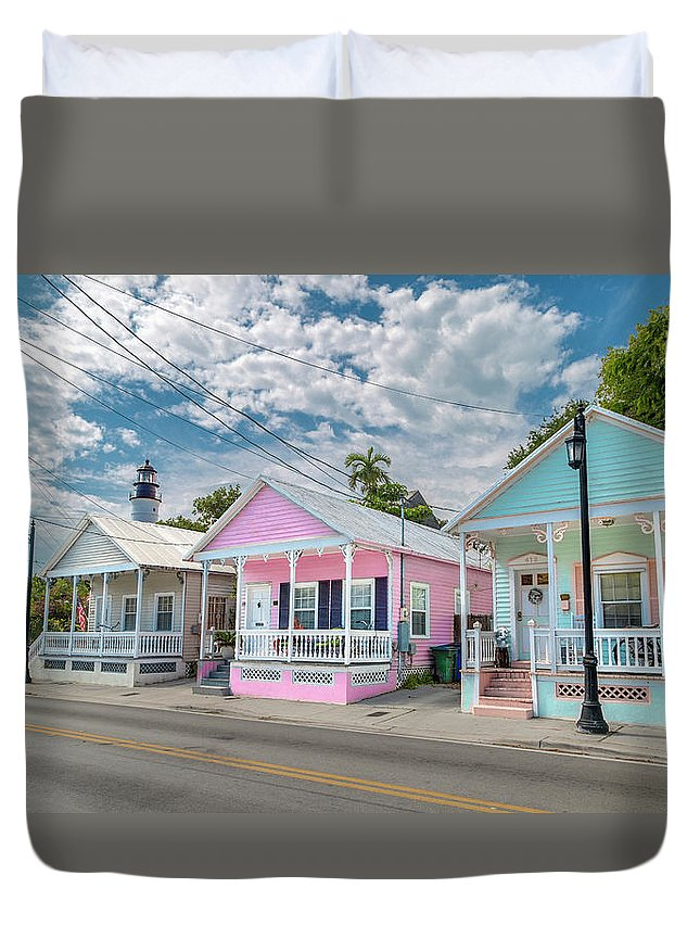 Florida Duvet Cover featuring the photograph Florida Keys Flavor by Betsy Knapp