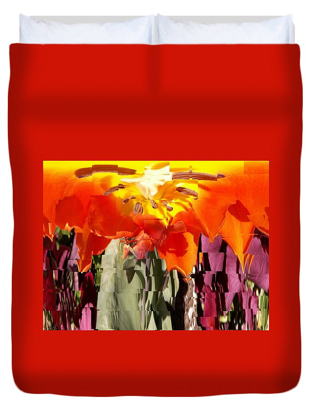 Flower Duvet Cover featuring the photograph Flower by Tim Allen
