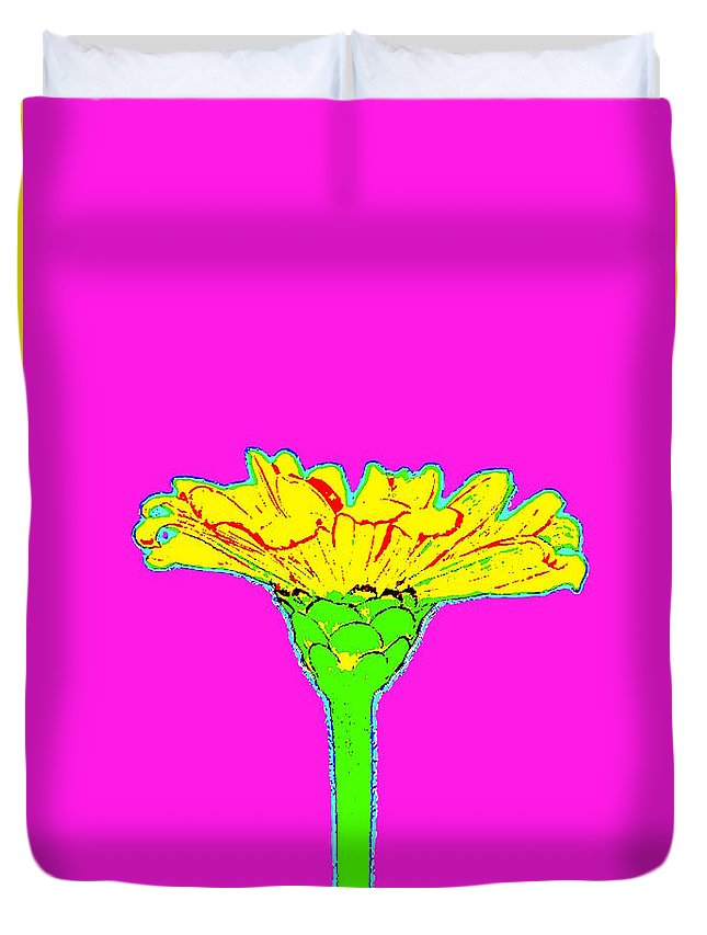 Flower Duvet Cover featuring the photograph Flower10 by Gillis Cone