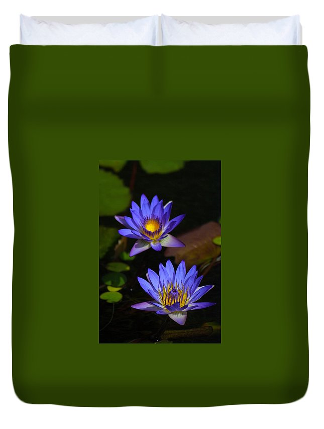 Nature Duvet Cover featuring the photograph Flowers 2 by Lisa Spero
