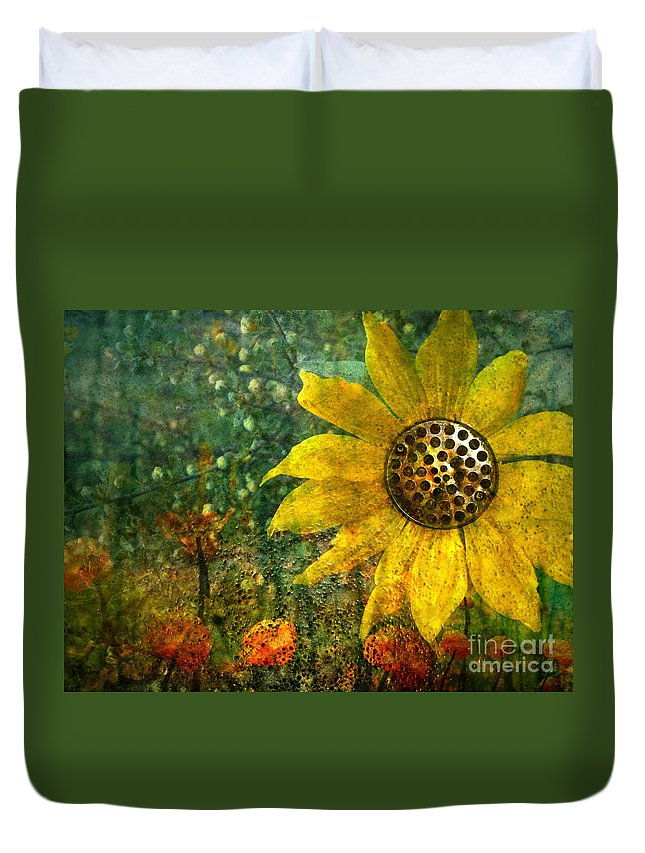 Flowers Duvet Cover featuring the photograph Flowers For Fun by Tara Turner