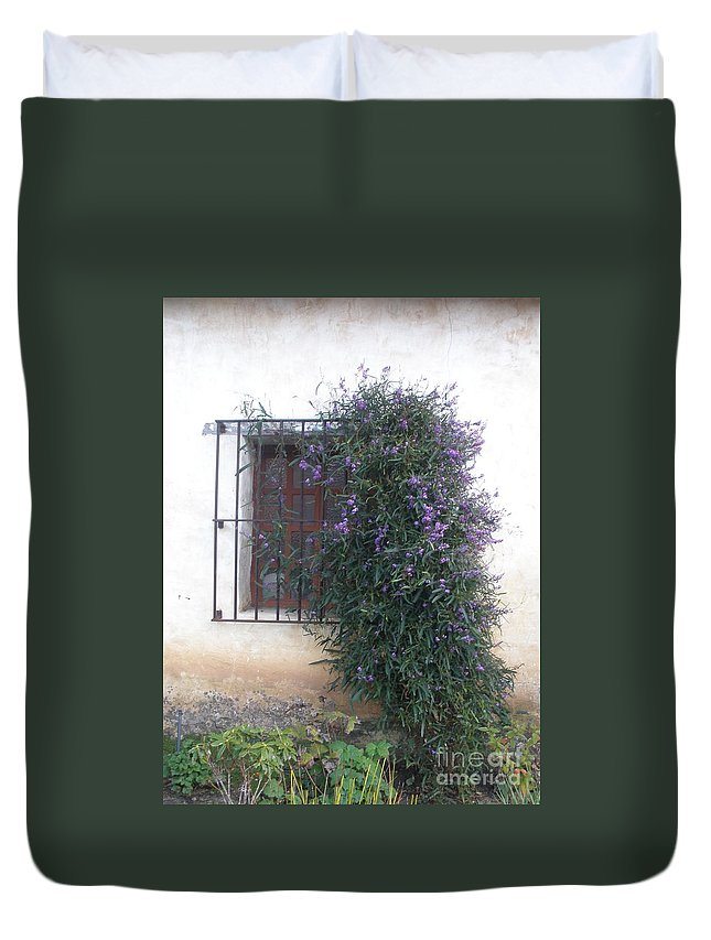 Flowers Duvet Cover featuring the photograph Flowers by Jeanie Watson