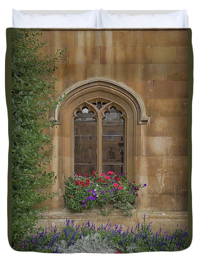 Cambridge Duvet Cover featuring the photograph Flowery by Monika Tymanowska