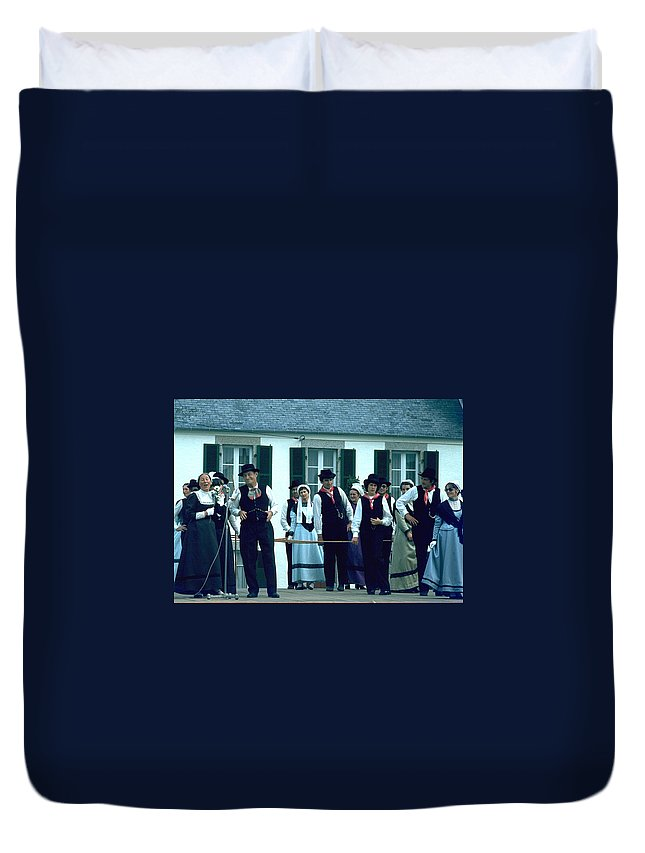 Tradition Duvet Cover featuring the photograph Folk Music by Flavia Westerwelle