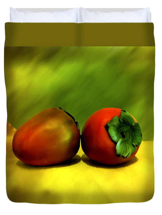 Still Life Duvet Cover featuring the photograph Food For The Gods by Kurt Van Wagner
