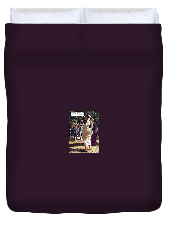 2d Duvet Cover featuring the photograph For Adults by Brian Wallace