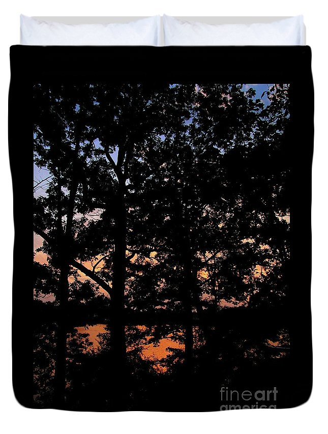 Landscape Duvet Cover featuring the photograph For You by September Stone