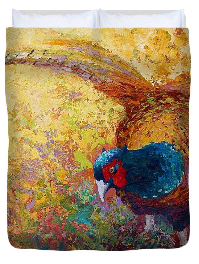 Marsh Bird Paintings Duvet Covers