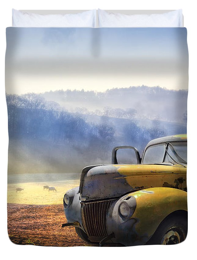 Auto Photographs Duvet Covers