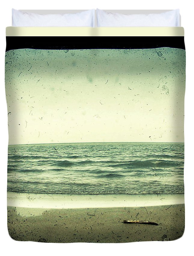 Ttv Duvet Cover featuring the photograph Forget Yesterday by Dana DiPasquale