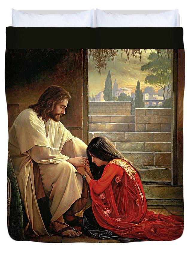 Forgiveness Duvet Covers