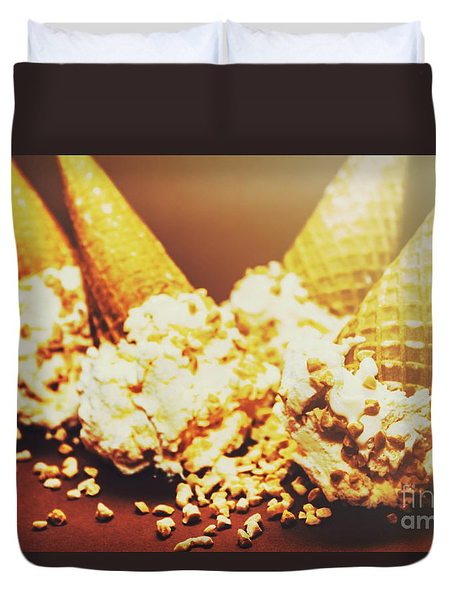 Four Artistic Ice-cream Cones Duvet Cover for Sale by Jorgo ...