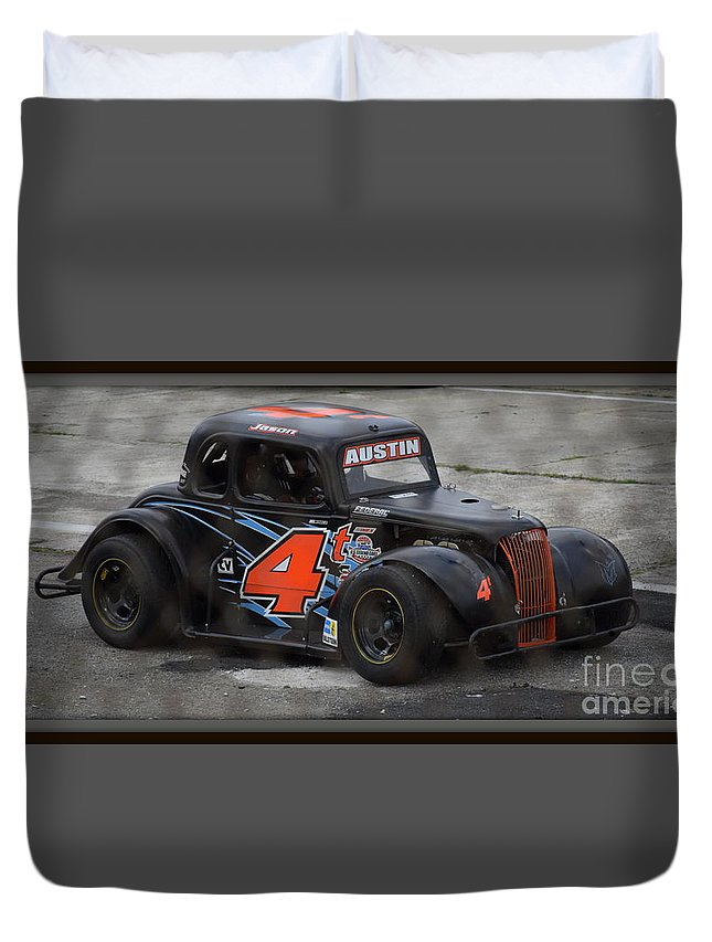 Four Duvet Cover featuring the photograph Four Austin by Anita Goel