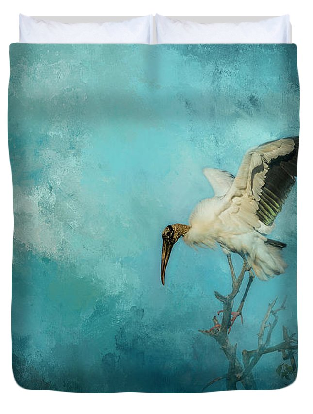 Birds Duvet Cover featuring the photograph Free Will by Marvin Spates