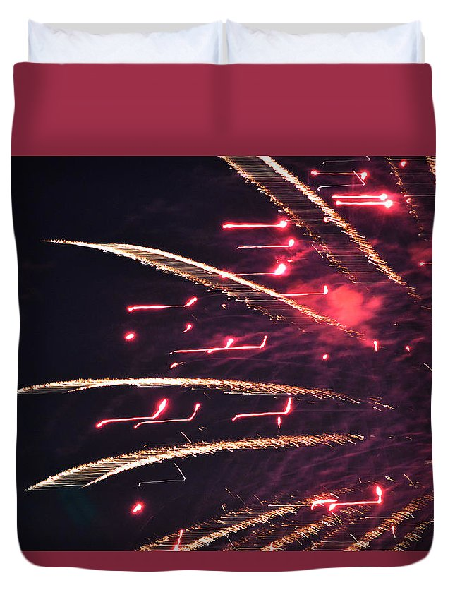 Independence Day Duvet Cover featuring the photograph Freedom Never Will Die by Carolina Liechtenstein