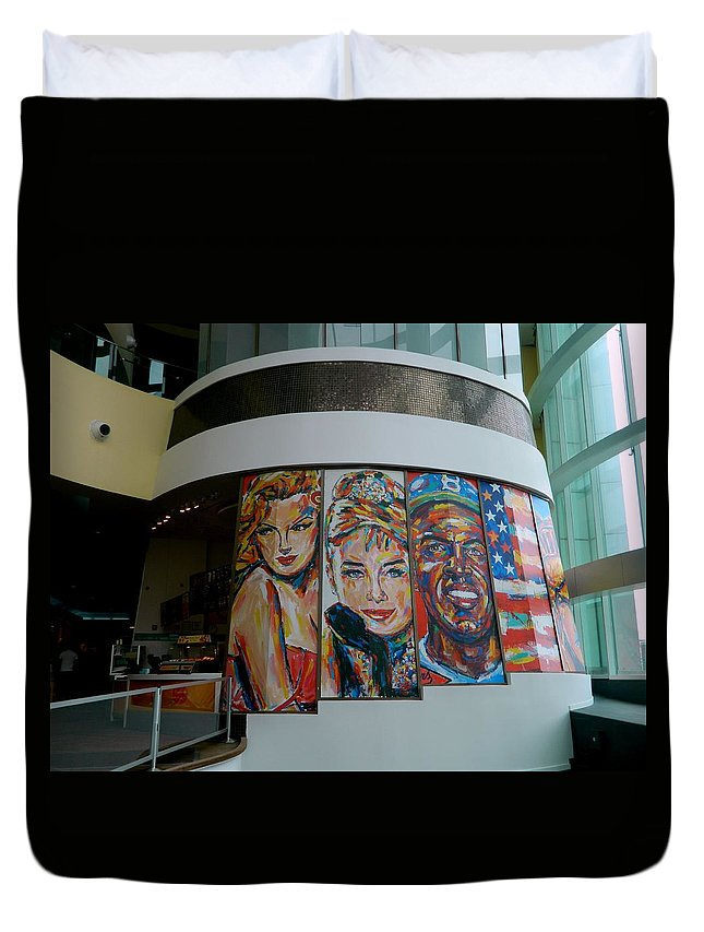 Wall Duvet Cover featuring the photograph Freestyle Art Series - 2 by Arlane Crump