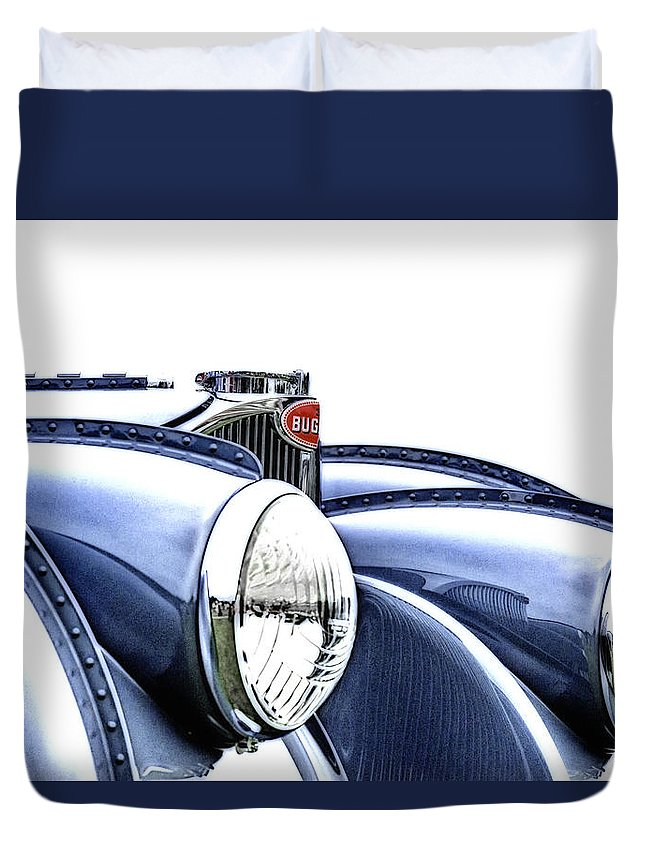 Bugatti Duvet Cover featuring the photograph French Curves by Duschan Tomic