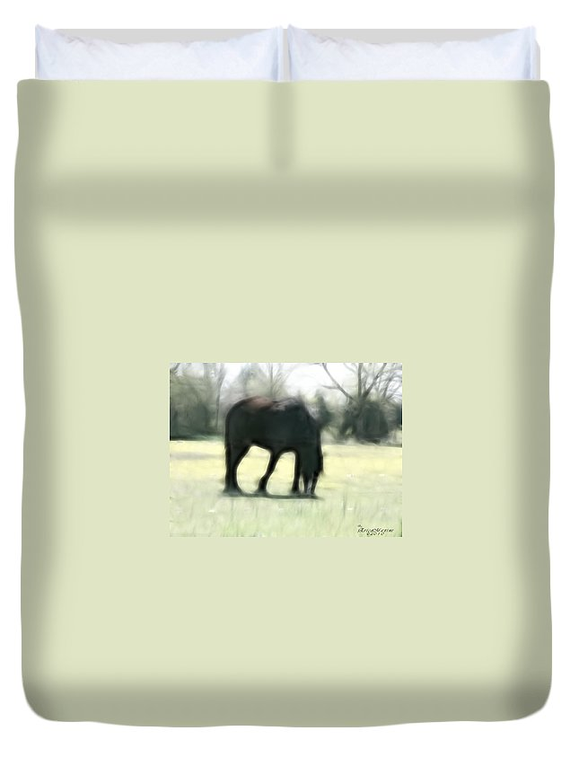 Tn Duvet Cover featuring the photograph Friend Of Distinction by Ericamaxine Price