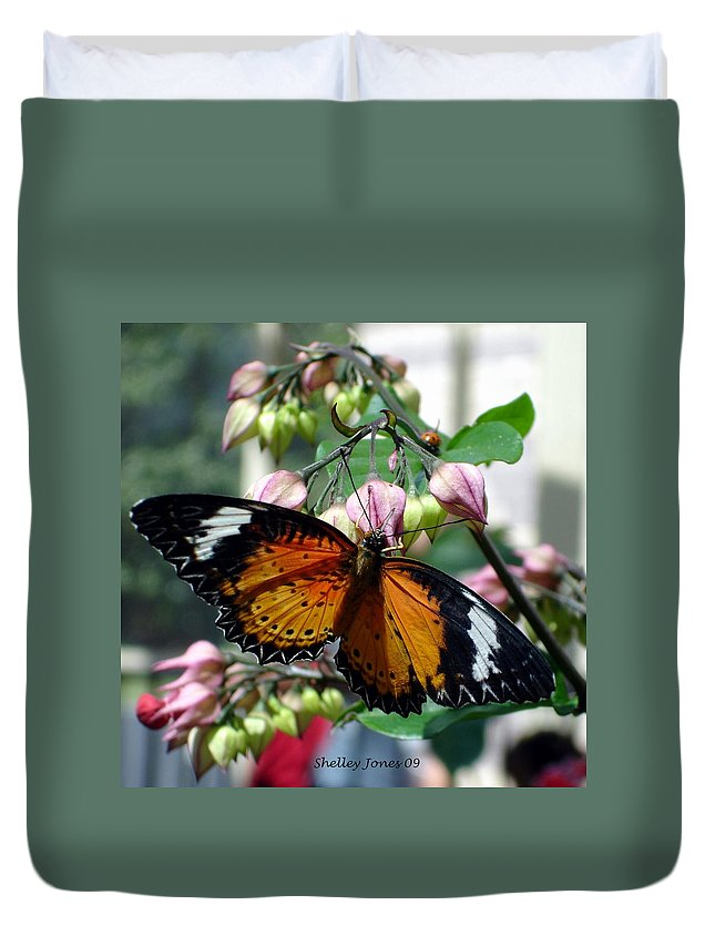 Photography Duvet Cover featuring the photograph Friends Come In Small Packages by Shelley Jones