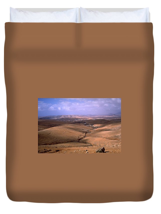 Fuerteventura Duvet Cover featuring the photograph Fuerteventura I by Flavia Westerwelle