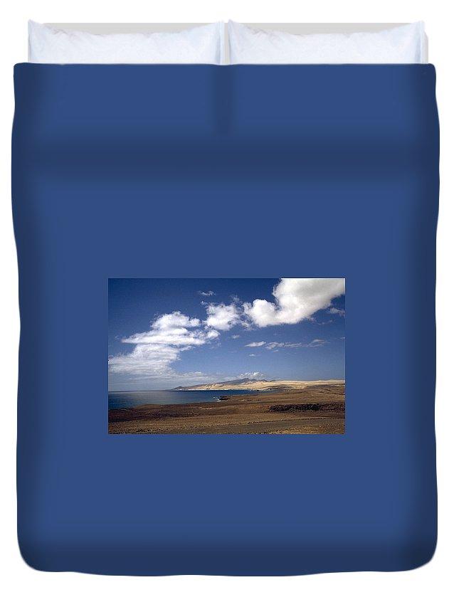 Fuerteventura Duvet Cover featuring the photograph Fuerteventura II by Flavia Westerwelle